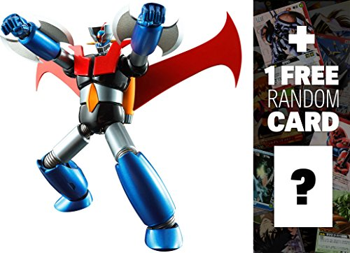 Mazinger Z (Iron Cutter Edition): Super Robot Chogokin x Mazinger Z + 1 FREE Super Robot Anime Themed Trading Card Bundle (Super Alloy Iron compare prices)