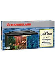 Marineland LED Light Hood, 20-Inch by 10-Inch