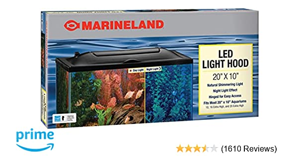 strip light aquarium incandescent all-glass 12/
