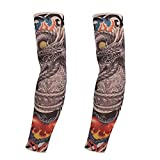 Outdoor Sports Arm Warmers Tattoo Sleeves Fashion Arm Sleeves Set of 2 Arm Cover