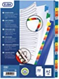 Elba Intercalaires alphabétiques A4+ 26 positions carte Assortis