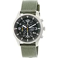 Seiko Men's SNDA27 Green Dial Watch