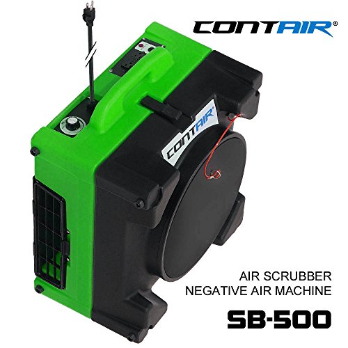 Negative Hepa Air Cleaner : Contair sb hepa commercial industrial air scrubber