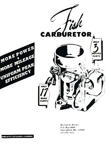 Fish Carburetor The Carburetor Book Michael H Brown Amazon Com Books