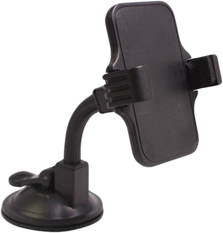 1xdemarkt Handyhalterung Handyhalter Kfz Auto Handyhalterung Saugnapf Autotelefonhalter Handy Navigation Halter 360 Grad Universal Autohalterung Elektronik