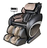 Therapeutic Massage Chair Recliner - High Tech Shiatsu Massager with Body Scan Therapy & Zero Gravity Technology - Black