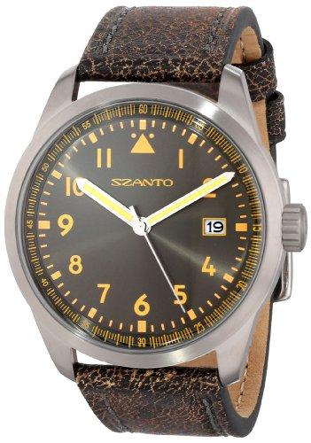 Szanto Men's SZ 2201 2200 Series Classic Vintage Inspired Watch by Szanto