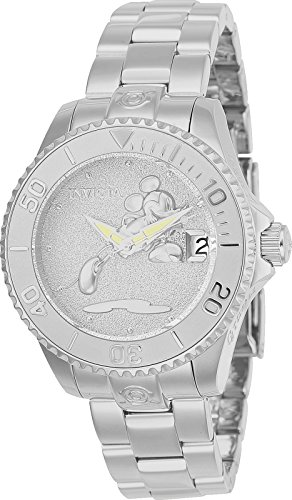 Invicta Women's 'Disney Limited Edition' Automatic Stainless Steel Casual Watch, Color:Silver-Toned (Model: 24532) -  886678297115