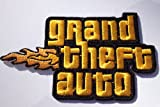 Grand Theft Auto GTA Logo Embroidered Iron on Patch