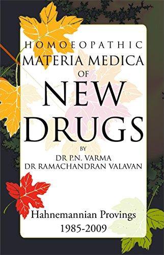 - HOM MAT MED OF NEW DRUGS