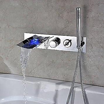 Luxus Charmingwater Badewannenarmaturen Zeitgenossisch Led