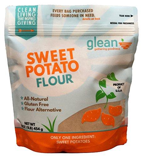 Glean Sweet Potato Flour, 16oz. - Gluten Free/Paleo by Glean