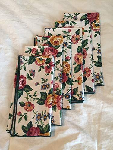 Longaberger Napkins in Garden Splendor Fabric