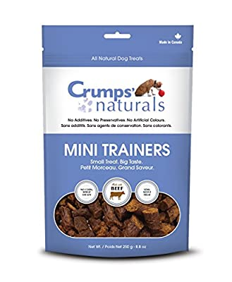 Crumps' Naturals Mini Trainers Beef (Semi-Moist) (1 Pack), 120G/4.2 Oz by The Crump Group, Inc.