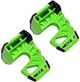 Wedge-It - The Ultimate Door Stop - Lime Green - TWO PACK