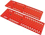 Kyпить Car Emergency Snow Kit Recovery Tracks - Sand Ladder- One Pair - By BUNKERWALL BW1022 на Amazon.com