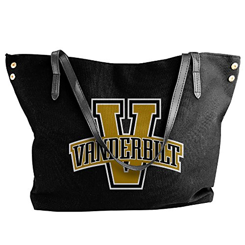 [NCAA Vanderbilt University Vandy Vanderbilt Commodores Logo Handbag Shoulder Bag For Women] (Vanderbilt Commodore Costumes)
