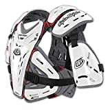 Troy Lee Designs Youth 5955 Chest Body Guard-White