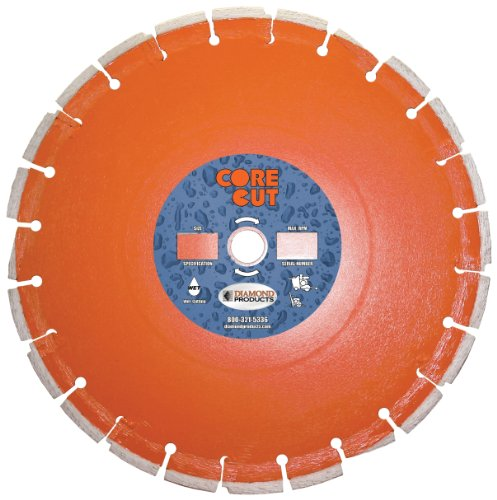 Diamond Products Core Cut 21831DIA Heavy Duty Cured Concr...