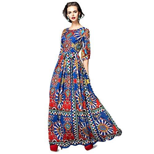 Buy long sleeve empire waist cocktail dress - 2