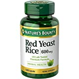 nature bounty red yeast rice - Nature's Bounty Red Yeast Rice 600mg 120 Capsules (Pack of 2)