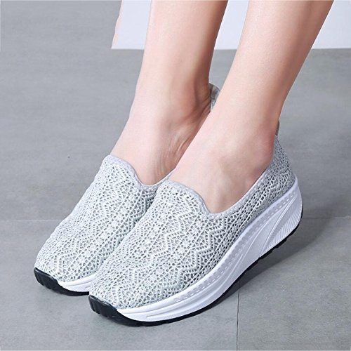 Printemps Chaussures Automne Slip Chaussures Une plats Shake amp; Chaussures Shaking Conduite Sneakers Chaussur Femmes de Chaussures sport Chaussures Chaussures de Shake Mocassins Mocassins Ons Toile Fitness qtCE18