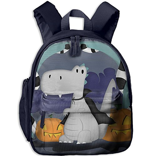 HUEH Outdoor Dinosaur Halloween Kids Snack Backpack School Book Bags Gift For Toodle Teen Boys (Halloween Snacks For Toddlers)