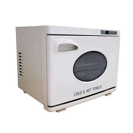 2 en 1 Esterilizador de Toalla 28L UV Toalla Calentador Caliente Esterilizador Gabinete Piel SPA Herramienta