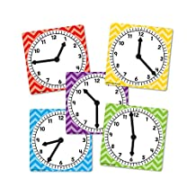 Teacher Created Resources Clocks Set Of 5