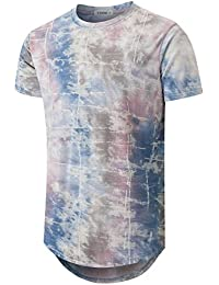 Mens Hipster Hip-Hop Premiun Tees - Stylish Longline Latest Fashion Print T-Shirts