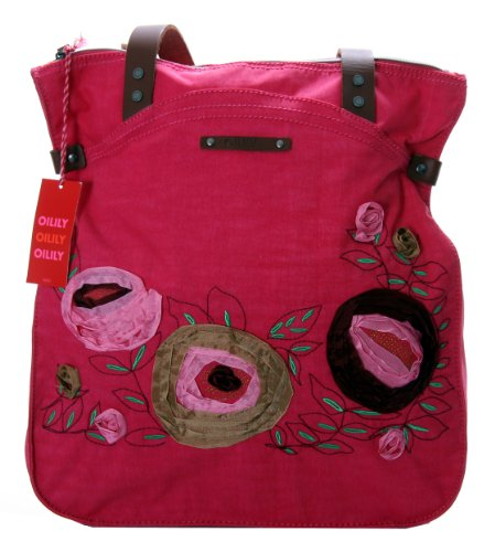 Borsa Flower Rosa Tapes Oilily Shopper OgWRnc