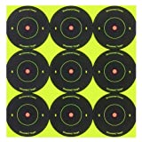 """Birchwood Casey Shoot-N-C 2"""" Round Bull's-Eye Target (Pack of 12)"""