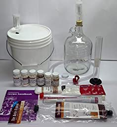 North Mountain Supply 1 Gallon Wine From Fruit Economy Kit 25pc - Requires Corking Equipment