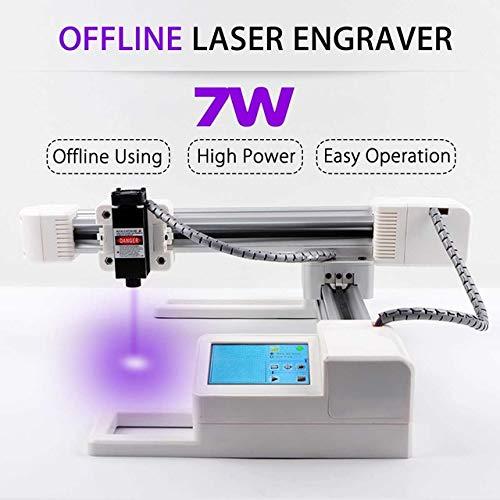 Mini impresora láser portátil con grabado láser de 7 W, para ...