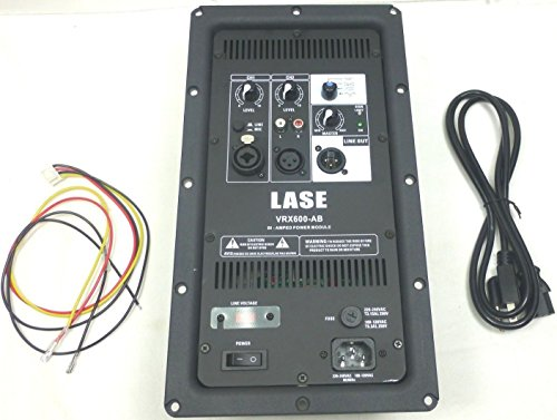LASE VRX 600-AB Power Amplifier Convert Your Passive Speaker