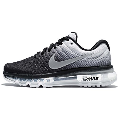 Nike Air Max 2017 (GS), Zapatillas de Trail Running Para Niños negro