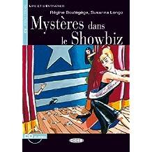Mystères dans le showbiz livre+cd