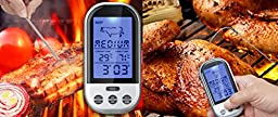 ThermoFuture Wireless Meat Thermometer Long Range BBQ Grill Smoker Temperature Range 40M-50M