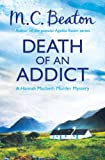 Front cover for the book Death of an Addict by M. C. Beaton