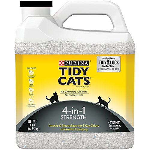 Purina Tidy Cats 4-in-1 Strength Cat Litter - (3) 14 lb. Plastic Jug
