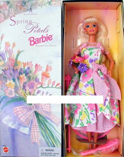Mattel Avon Special Edition Spring Petals Barbie Doll Second in Series