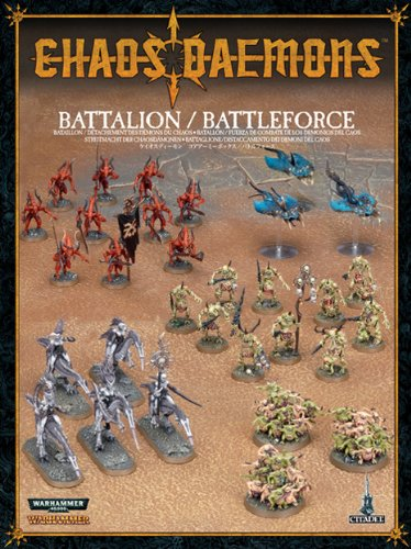 Chaos Daemons Battalion / Battleforce by 'Warhammer 40,000 - Chaos Daemons' 000 - Chaos Daemons Games Workshop NA