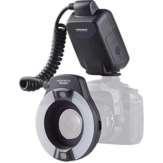 Yongnuo_ YN-14EX TTL LED Macro Ring Flash Light for Canon Macro & Ringlight Flashes at amazon