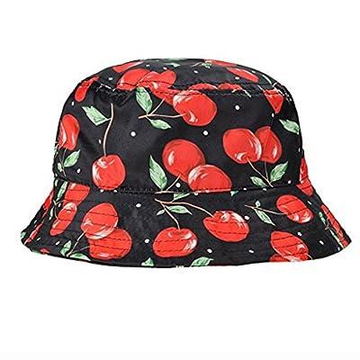Creazrise Clearance! Mens Pineapple Print Fisherman Hat Casual Summer Nepalese Boonie Cap
