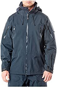 5.11 Tactical Men's XPRT Waterproof Breathable Jacket, 100% Nylon Hardshell, Side Seam, Style 4