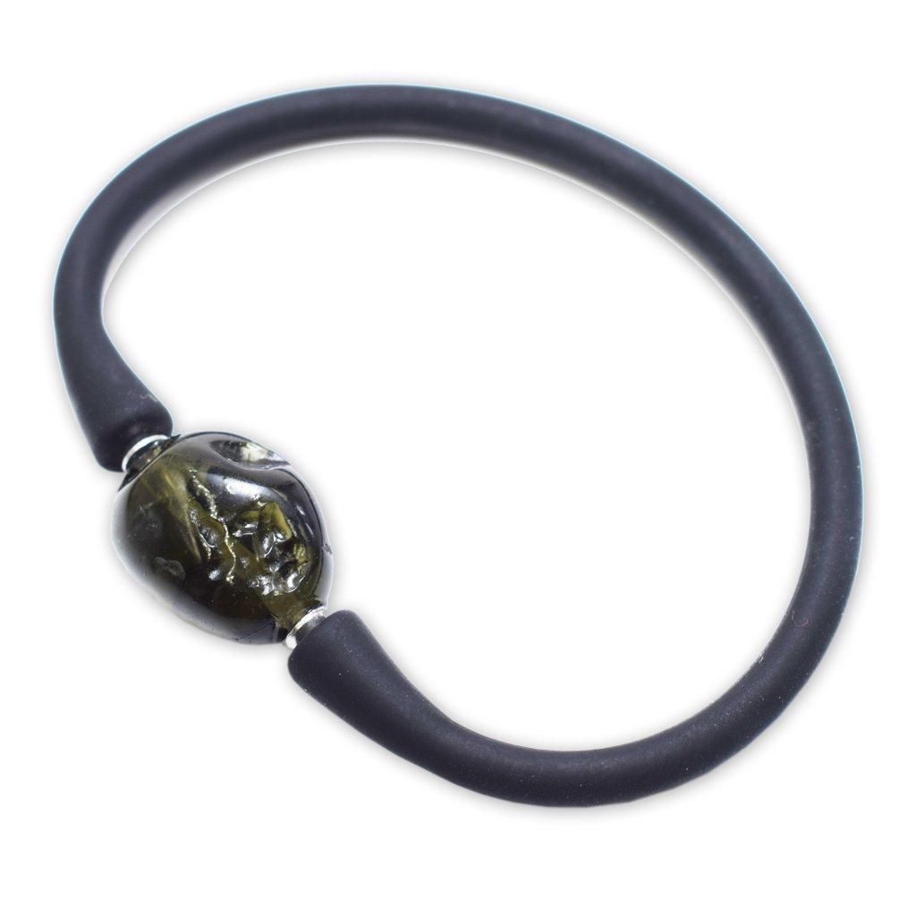 Moldavite Stone Bracelet by Stones Desire