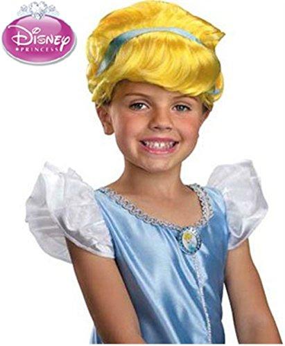 [Disney Princess Cinderella Halloween Wig] (Girls Cinderella Costumes Wig)