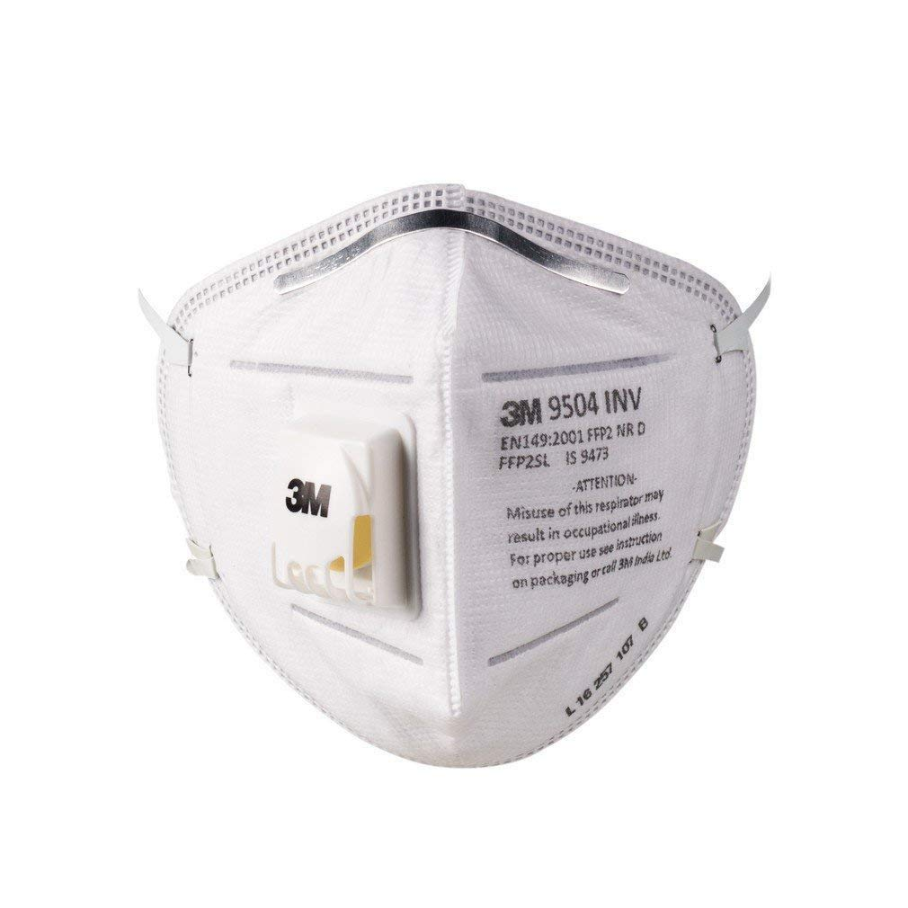 N95 9504 10 Dust Inv Pack Pollution Mask - 3m Of