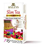 Hyleys Tea Slim Tea, Assorted Pack, 1.32 Ounce, 25 Tea Bags