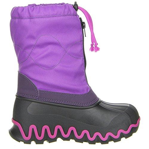 Vista Canada POLAR Kinder Winterstiefel Snowboots lila Lila